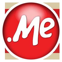 .me TLD. Courtesy: domain.me