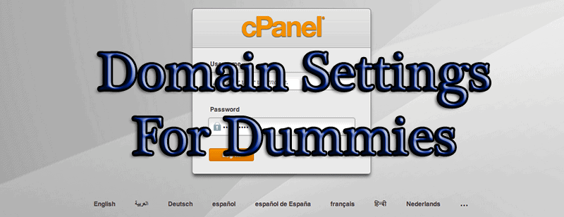 Cpanel guide to your domain settings subdomain alias for dummies