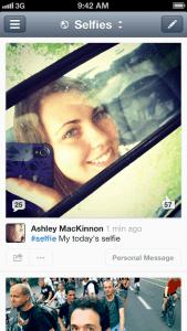 #selfie Feed