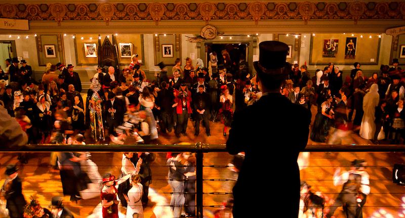dance floor ending