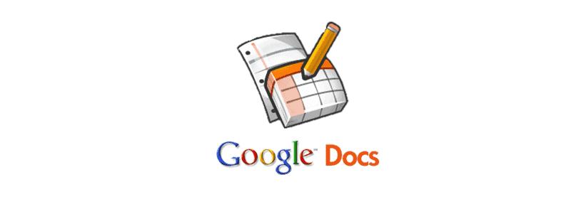 google docs project management