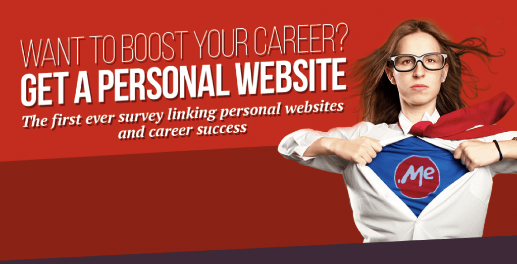 Want to boost your career? Get a personal website (+Infographic)