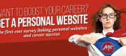 The results of first ever study linking personal websites and career sucess