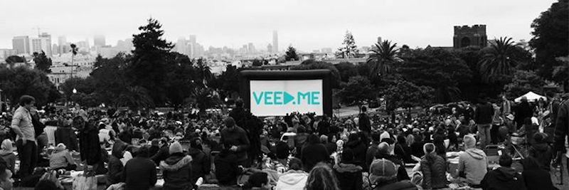 veed.me outdoor screening