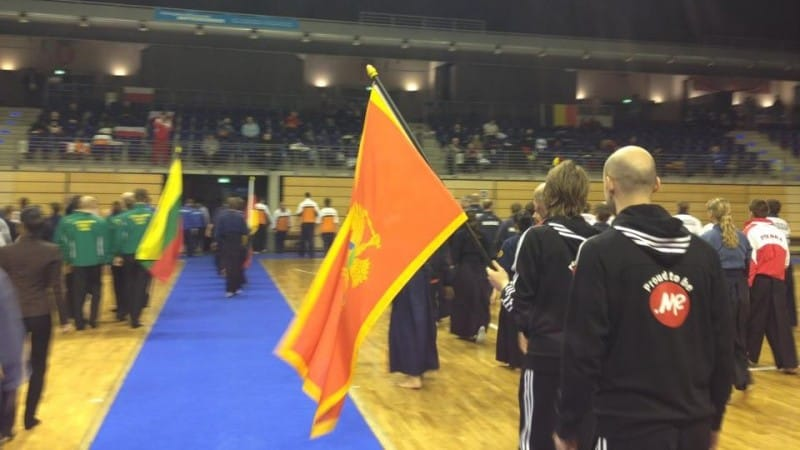 .ME sponsored Montenegrin Kendo Federation to attend European Kendo Championship in 2014