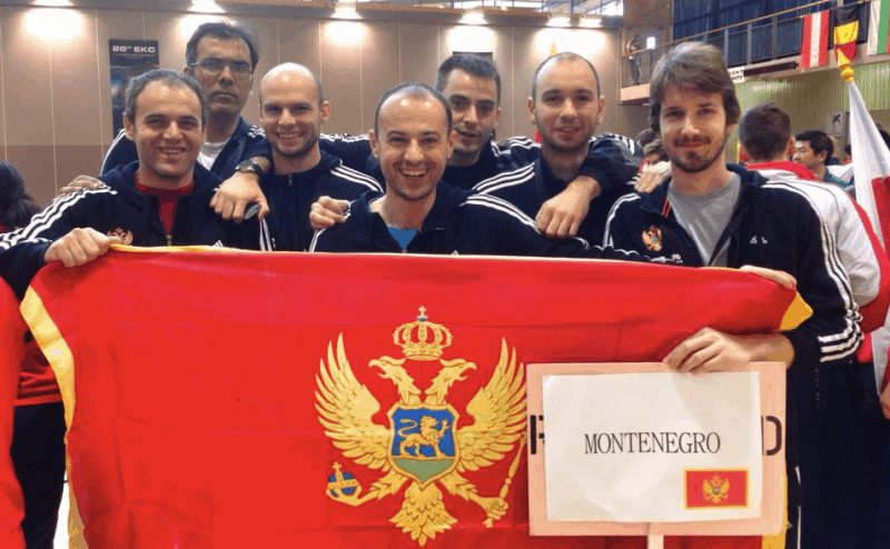 Montenegrin Kendo National Team at European Kendo Championship in France
