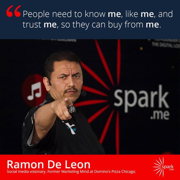 Ramon has his own hashtag - RamonWOW