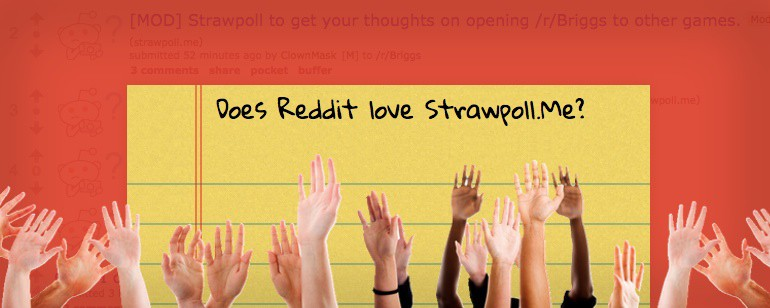 StrawPoll Me: How to Use Reddit's Most Popular Poll Service
