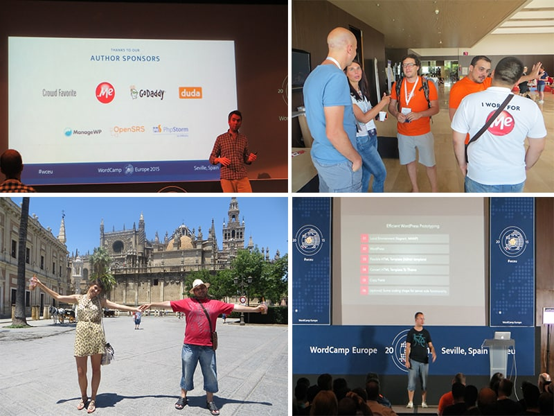 WordCamp Europe was a great opportunity to meet fellow WordPress enthusiasts and new .ME community memebers.