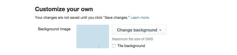 Customize Twitter.com