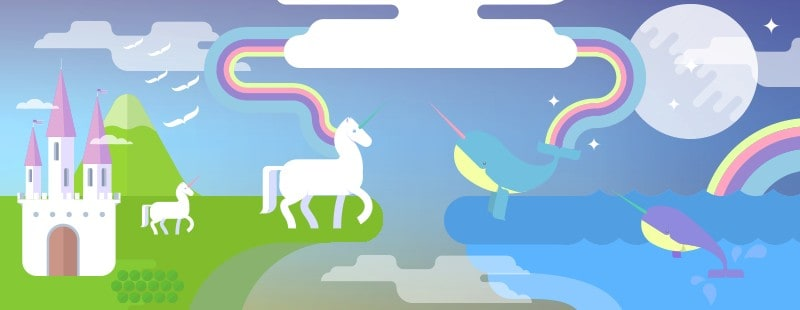 「INFOGRAPHIC」 The Great 21st Century North American War: Unicorns vs Narwhals
