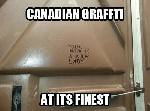 Canada is nice!