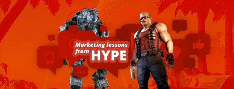 Marketing games hype
