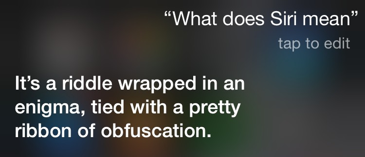 what-does-siri-mean