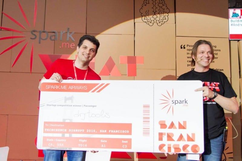 spark.me spark startup competition