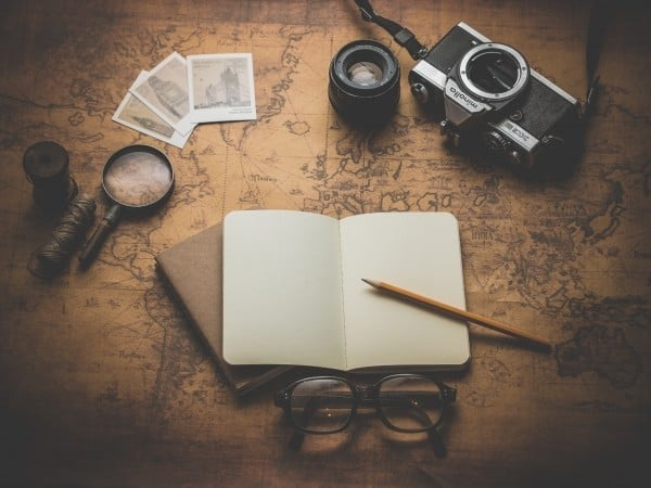 camera-journal-travel