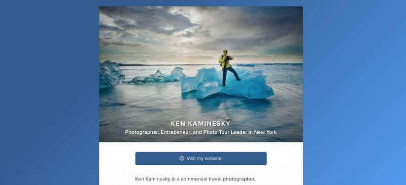 KEN KAMINESKY about.me