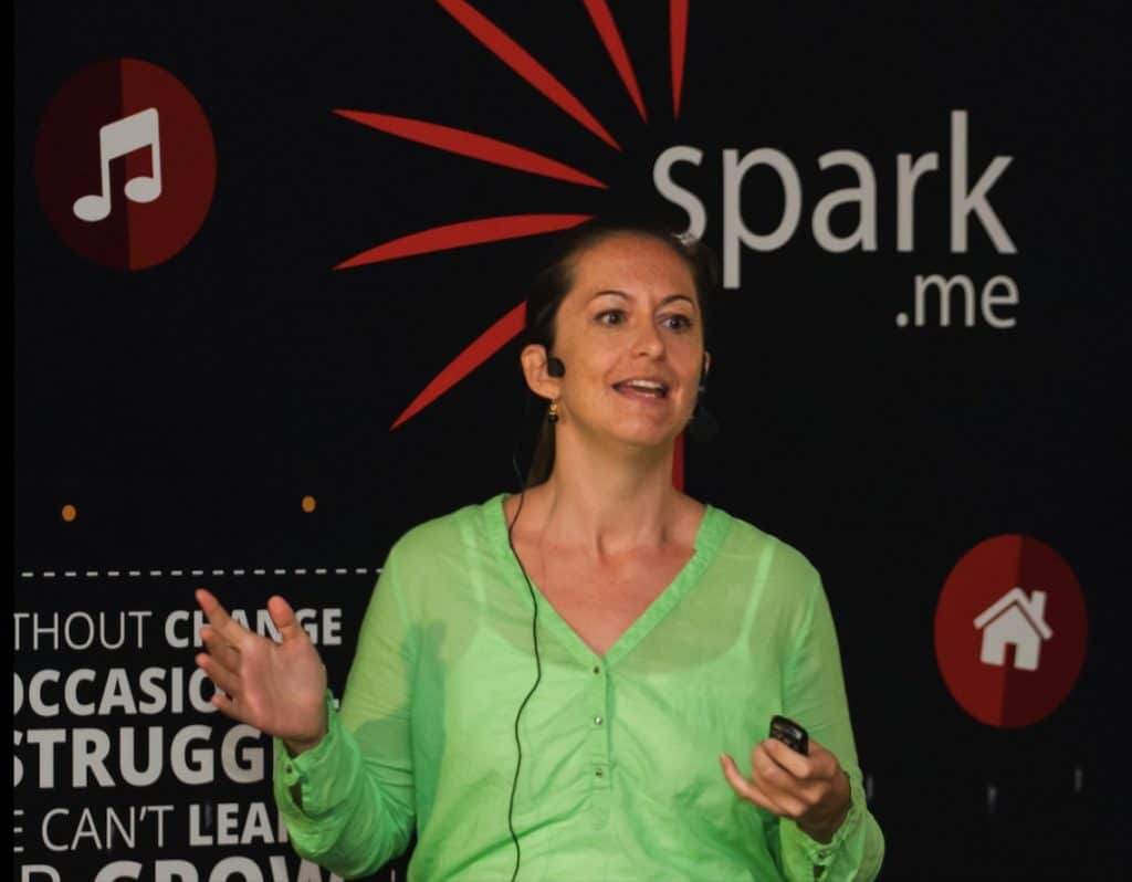 Tine Thygesen - Spark.me Speaker
