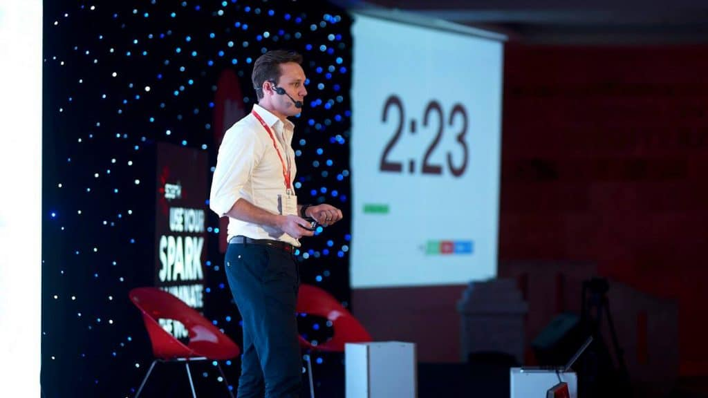 Top Digital Agency presenting at Spark.me 2018 Startup Competition