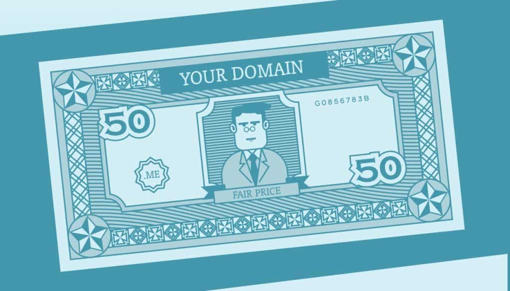 There are different factors that determine the worth of a domain name