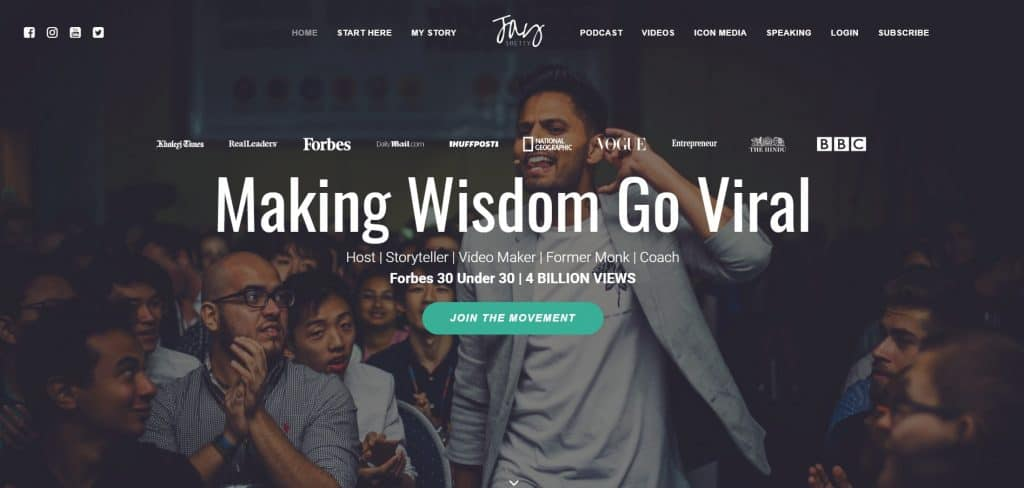 The Story of Jay Shetty and Wisdom Going Viral • Domain ...