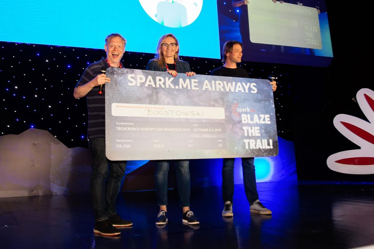 Boostowski, Spark.ME 2019 Startup Competition winner