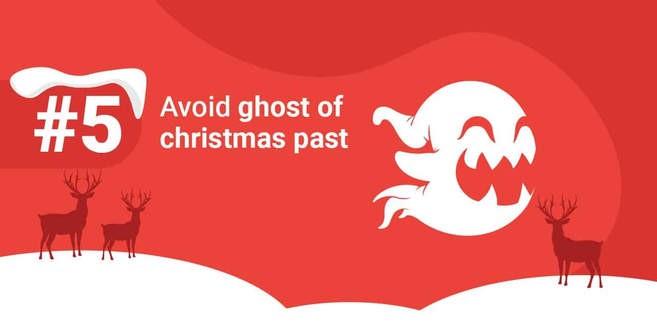 5 avoid ghost of Christmas past