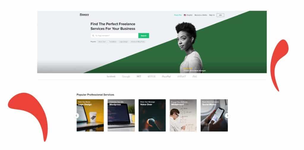 Fiverr platform