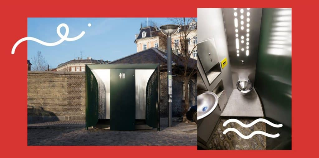 innovative design CPH urban toilet