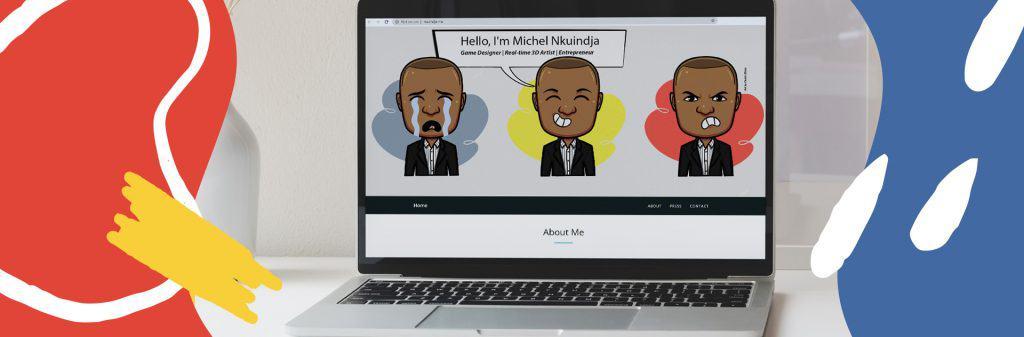 Michel Nkuindja Game Designer who followed his dream