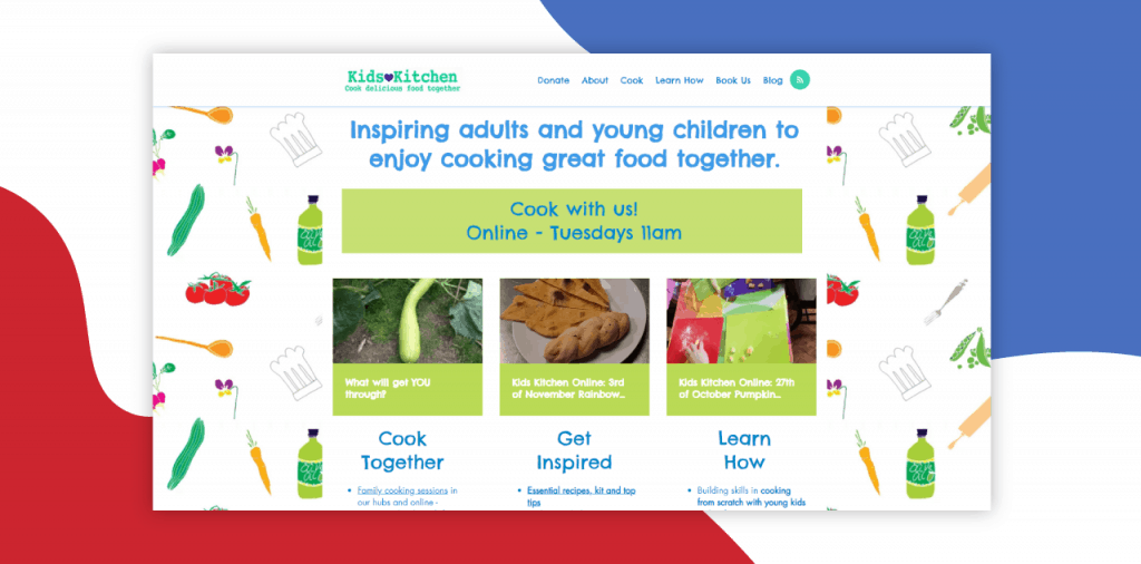 kids kitchen best cooking sites for kids