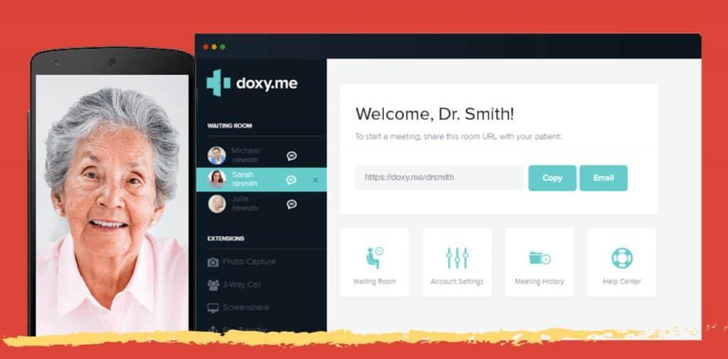 doxy.me telemedicine service