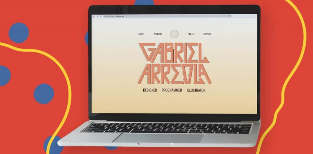 Gabriel Arreola's personal portfolio
