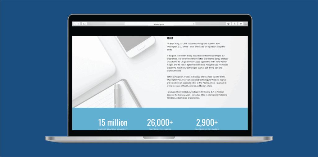 digital presence personal website