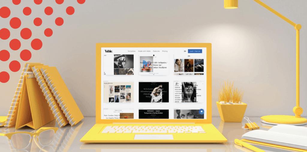 What is Vsble - Website Design Platform