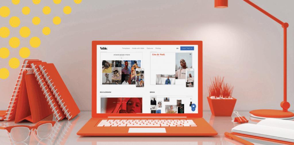 What Does Vsble.me Website Design Platform Look Like