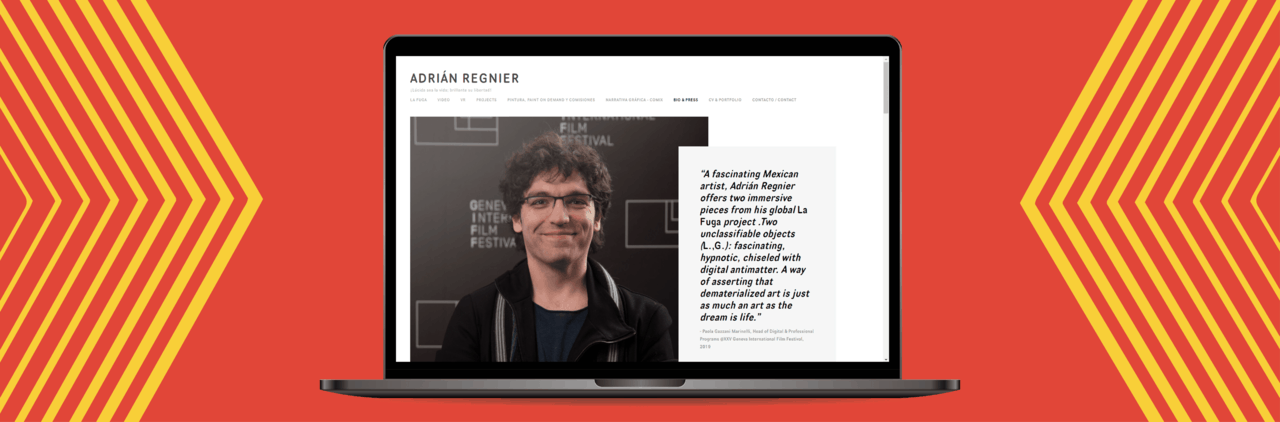 """Adrián Regnier: A """"Fascinating and Hypnotic"""" Visual Artist"""